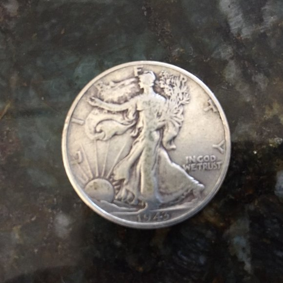 Silver Other - 1943 Walking Liberty Half Dollar